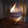 Lampe à poser ecoresponsable, BulM M by LairiaL, lampe posée façon lampadaire