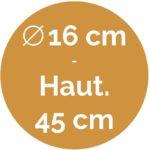 16 cm / 45 cm - BulM S