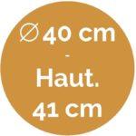 40 cm / 41 cm - Volupte M