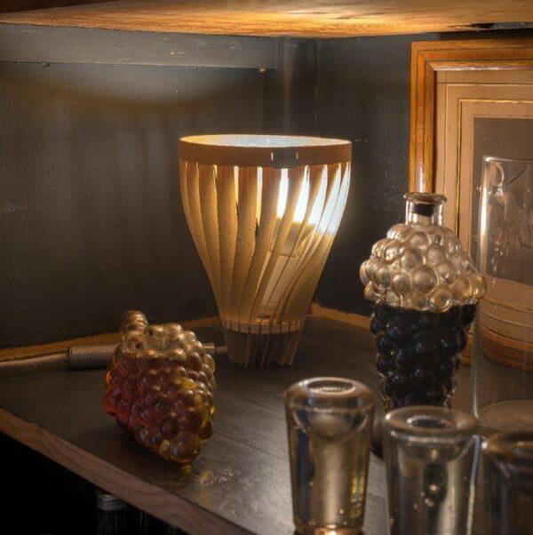 Lampe à poser sur-mesure, LairiaL createur de lumiere sensorielle credit@jf-tremege
