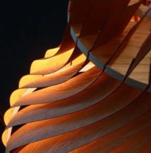 Fabrication des lampes en néo-marqueterie, notre savoir-faire exclusif