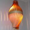 Luminaire artisanal, BulM M en chene et frene by LairiaL
