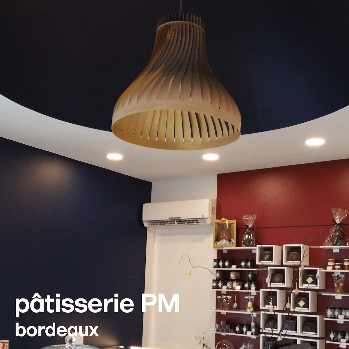suspension pâtisserie pm à Bordeaux
