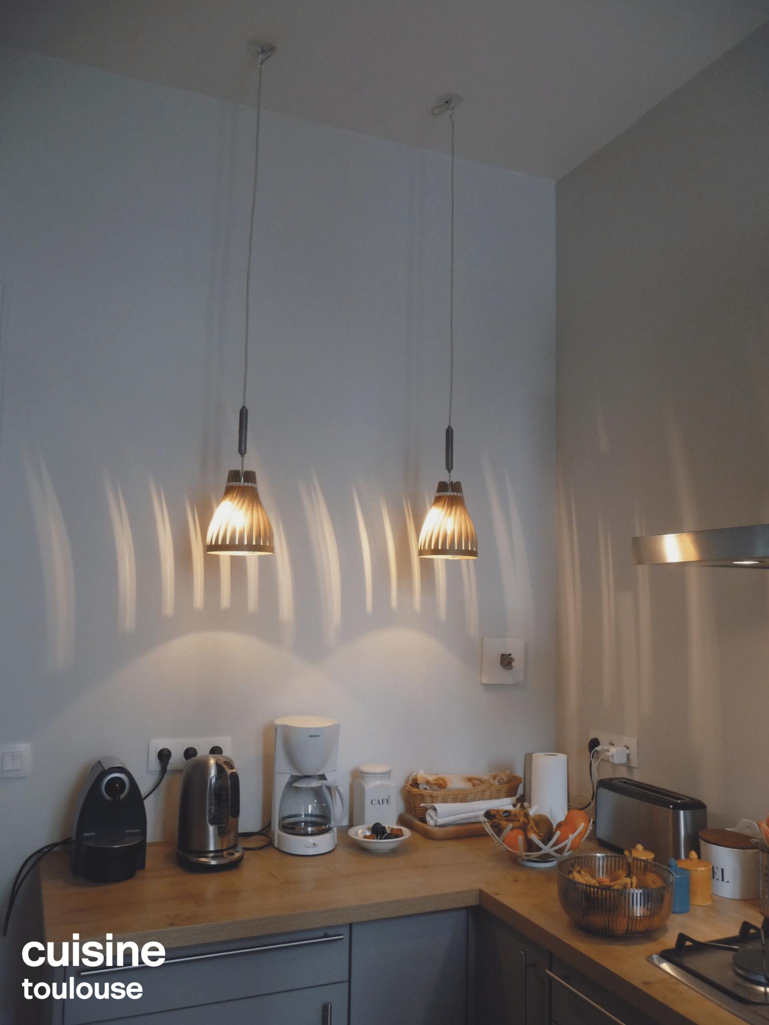 suspension plan de travail cuisine / volupte S