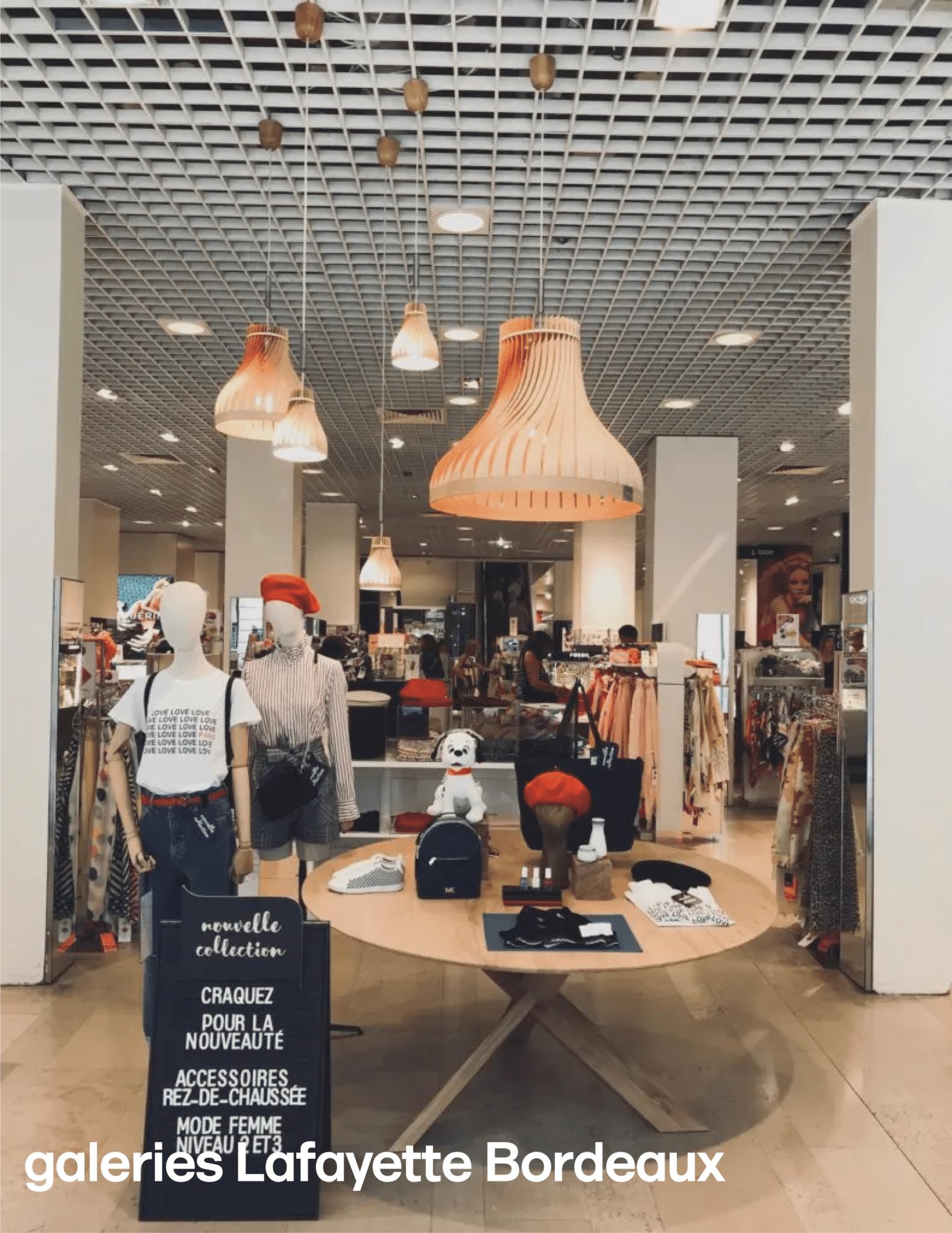 Galeries Lafayette Bordeaux / volupte